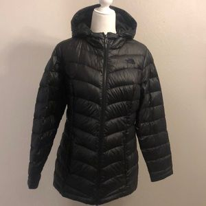 Authentic The North Face goose down puffer